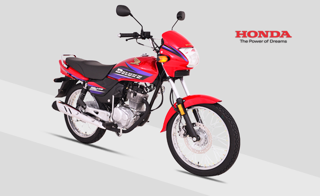 Honda 125 Deluxe Red Picture