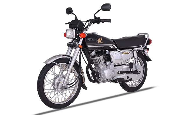 Honda CG 125s Self 2019 Black Colour