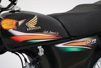 Honda CD70 2016 New Fuel Tank Design and Sticker