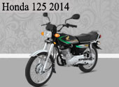 2014 Honda 125 - Same Bike with Higher Price
