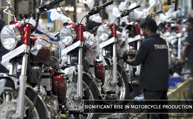 Pakistani Market to See Significant Rise in Motorcycle Production