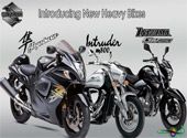 Suzuki Heavy Bikes in Pakistan