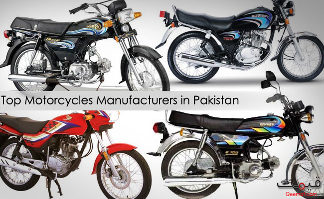 Top Motorcycles Manufacturers in Pakistan