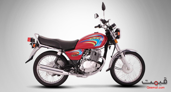 Suzuki GS150 2012 Red Color Picture