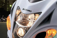 Suzuki Hayabusa Vertically Stacked Headlight
