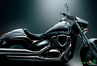 Suzuki Intruder Body Design