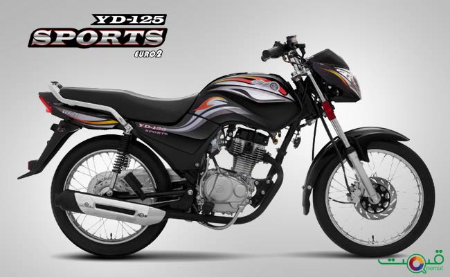 DYL YD-125 Sports Bike Price in Pakistan with Review and Pics