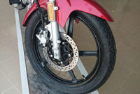 Yamaha YBR125 18-Inch Tires Front and Rear